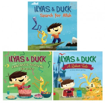 Ilyas and Duck Books Promo