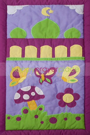Purple Butterfly Mat