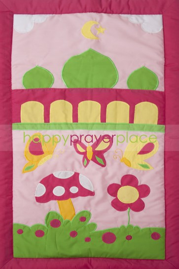 Pink Butterfly Mat