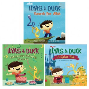 Ilyas and Duck 4 Books Promo