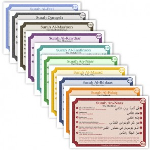 Qur'an Memorization Card