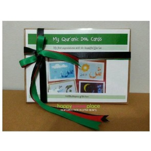 Little Muslim Busy Bag - Quranic Dot Cards